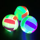 Puppy Pet Dog Jumping Activation Ball LED Light Flashing Bouncing Ball Toys US