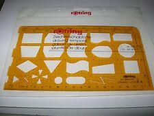 Rotring Schablone Datenverarbeitung  DIN 66001   Art.-Nr. R 854 770