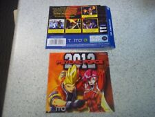 PSYCHIC FORCE 2012 PAL  Sega Dreamcast Replacement  Inlays.Reproduction