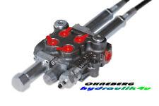 Hydraulikventil Kreuzschaltung Joystik Bowdenzug 2 X DW INDEMAR