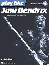 Play like Jimi Hendrix - The Ultimate Guitar Lesson Book with Online A 000127586