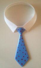Hemdkragen + Krawatte ,blau - Tortendeko zu Vatertag, Abschluß, 18. Geburtstag