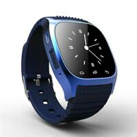 RWATCH M26 BLUETOOTH MONTRE CONNECTÉE smartphone iPhone Android podomètre BLEU