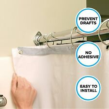 Shower Splash Guards (2 Per Pack) in Clear by SlipX Solutions