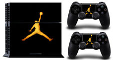 GOLD AIR FLY DECAL PROTECTIVE STICKER for SONY PS4 CONSOLE CONTROLLER
