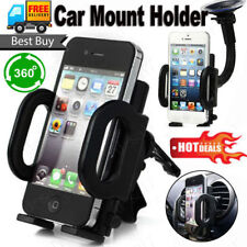 Universal 360°In Car Windscreen Suction Mount Cradle Holder for iPhone Samsung