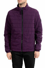 "Hugo Boss Men's ""Owest-D"" Purple Lightly Insulated Parka Jacket US S IT 48"