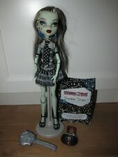 Monster High Doll Frankie Stein With Stand, Diary And Accessories