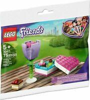 LEGO® Friends 30411 Pralinenschachtel & Blume - POLYBAG - NEU / OVP