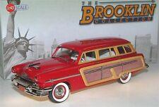 Brooklin BRK 188, 1954 Mercury Monterey Station Wagon Woodie, red, 1/43 -deleted