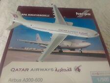 1:500 herpa wings  Qatar Airways A300