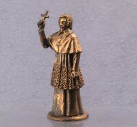Cardinal Richeliey Model 54mm collectible statue Copper figur sculpture 1/32