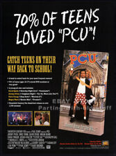 PCU__Orig. 1994 Trade print AD / video promo__JON FAVREAU__GEORGE CLINTON_P-Funk