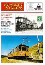 CHEMINS de FER RÉGIONAUX et URBAINS - N° 275 (1999 - 5) (FACS - CFRU) (Train)
