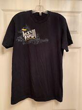 Vintage 2008 Jack's 3rd Show 93.1 FM Black T-Shirt Size Large Billy Idol Blondie