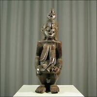 81508) Afrikanische Figur Senufo Elfenb.-küste Afrika KUNST