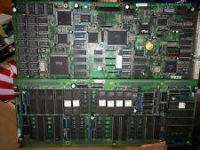SEGA MODEL2 MOTHERBOARD ARCADE JAMMA SYSTEM + GAME VIRTUA STRIKER 834-11904