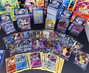 100 Pokemon Karten XXL Booster *SELTENE V/GX/VMAX KARTE GARANTIERT* Deutsch
