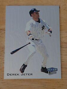 2000 Fleer Ultra Derek Jeter New York Yankees DIAMOND MINE  #10