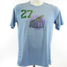 "Patagonia Mens Blue Crew Neck Short Sleeve Shirt Size S ""MURMUR"" #27 Lightweight"