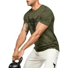 Under Armour Men's Gym Project Rock Brahma Bull Short Sleeve Shirt 1351582-315