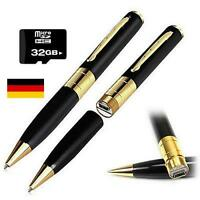 Mini Kamera USB Video Spy Cam Stift Kugelschreiber Camera mit 32GB Karte Gratis