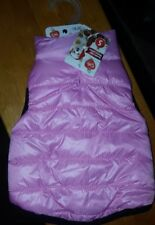 New listing Bnwt Pet Central Double Side Winter Jacket in Pink/Blue - Size S -