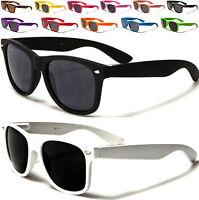 New Sunglasses Ladies Mens Boy Girl Black Brown Designer Retro Vintage UV400