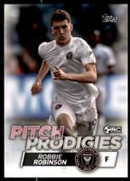 2020 Topps MLS Pitch Prodigies #185 Robbie Robinson - Inter Miami CF