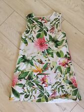 NEXT SP  BEAUTIFUL FLORAL DETAIL GIRLS DRESS AGE 7-8 Immaculate!
