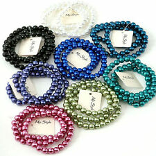 Pearl Costume Bracelets without Metal
