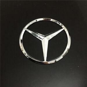 90mm Chrome Emblem Car Styling Rear Sticker Badge Decals Logo for Mercedes Benz