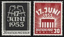 BERLIN 1953, MiNr. 110-111, 110-11, postfrisch, Mi. 50,-