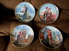 Franklin Mint Limited Edition Ellis Island Plates ~ 4 Plates by Max Ginsburg
