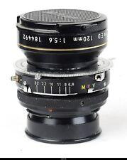 Lens Nikon Nikkor AM ED 5.6/120mm Prontor Adapted Nikon SLR