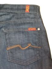 7 For all Mankind Jeans Mens Relaxed Stretch Dark  30 X 28