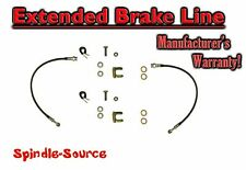 2006 - 2018 Dodge Ram 1500 FRONT Stainless Extended Brake Lines DOT Approved
