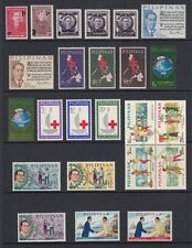 (RP63) PHILIPPINES - 1963 COMPLETE YEAR STAMP SETS. MUH