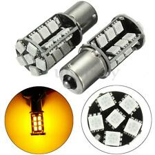 2x BA15S 382 p21w Amber Indicator 1156 LED Yellow Light Bulbs Canbus Error Free