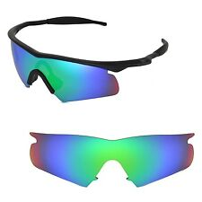 New Walleva Polarized Emerald Replacement Lenses For Oakley M Frame Hybrid