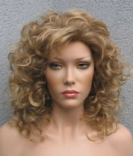 Volumen & Klasse in blond - lange Elegance Lady Perücke - Pretty Girl