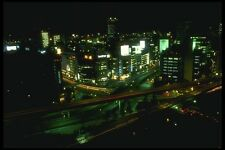 065047 Night Scene A4 Photo Print