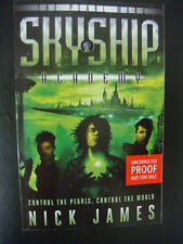 Skyship Academy:The Pearl Wars SIGNED by Nick James ARC