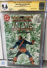Tales Of Teen Titans 55 CGC 9.6 | Signature Series Wolfman; Randall
