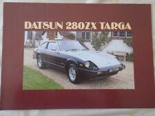 Datsun 280 ZX Targa brochure Mar 1982