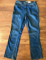 NWT Carhartt Womens Jeans Jasper Relaxed Fit Bootcut Medium Wash Size 8 Short