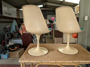 Collectible 70s swivel chairs refurbished