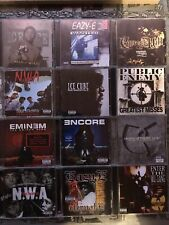 Wu-Tang, NWA, Ice Cube, Eminem, Eazy-E, CD Hiphop Rap