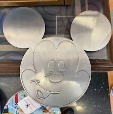New ListingDisney Parks Mickey Mouse Large Metal Trivet New