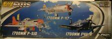 FMS F4U Corsair PNP, 1700mm: Blue FMM043PBLU